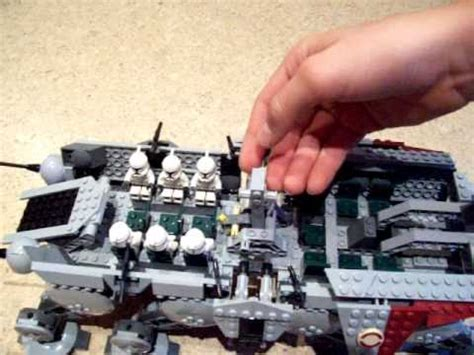 lego star wars   ot mit dropship review  youtube