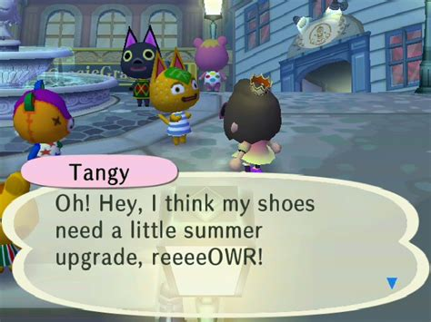 tangy animal crossing wiki fandom powered  wikia