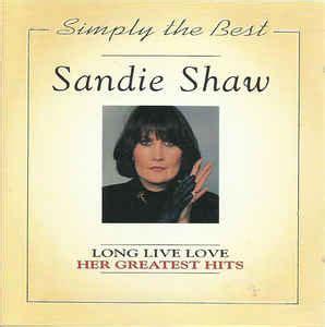sandie shaw long  love  greatest hits cd