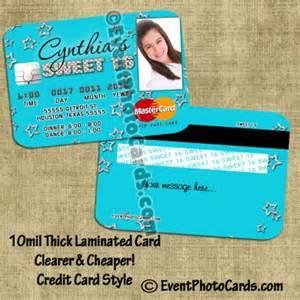 invitations    credit card  sweet