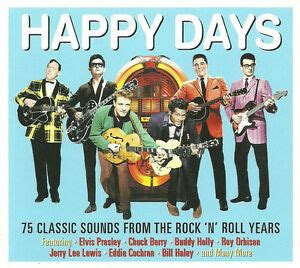 best happy new year song rock happy days 75 classic songs rock n roll years best collection new 3 cd 5060259820625 ebay