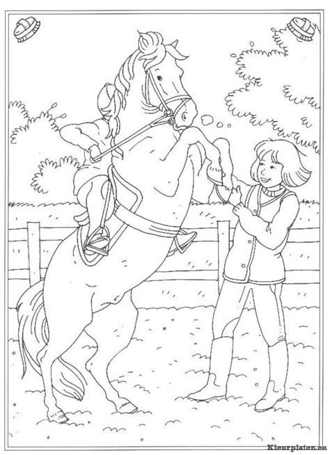 Kleurplaat Paarden Manege by Kleurplaten Paarden Manege