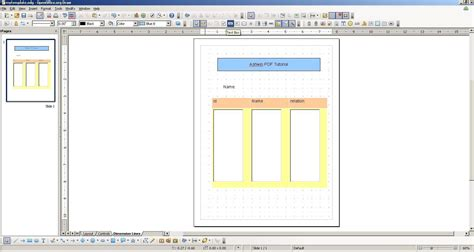 put templates java xml pdf generation using templates and openoffice and itext in