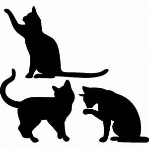 Les 25 meilleures idées de la catégorie Tatouages silhouette de chat sur Pinterest Chat du