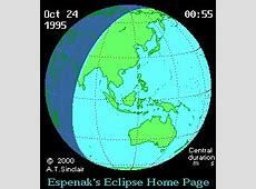 Solar eclipse of October 24, 1995 Wikipedia