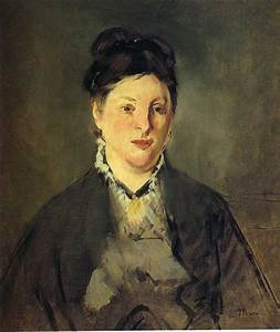Portrait of Suzanne Manet, 1870 - Edouard Manet - WikiArt.org