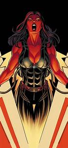 1242x2688, Marvel, Red, She