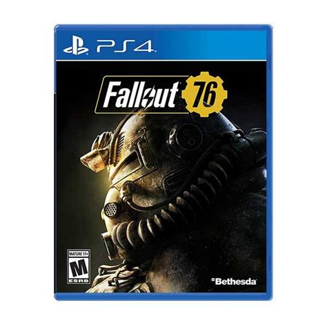 Console E Mania Shop by Fallout 76 Para Playstation 4 Mania Shop