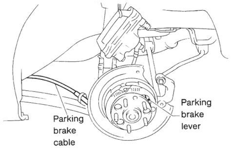 repair guides parking brake parking brake shoes