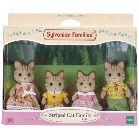 Sylvanian Families Cat Family by Sylvanian Families Striped Cat Family Estreet