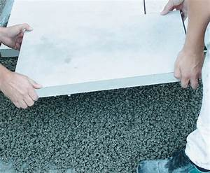 Terrassenplatten Verlegen Kosten : dachterrasse platten im splittbett fr25 hitoiro ~ Michelbontemps.com Haus und Dekorationen