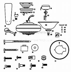 Hunter Ceiling Fan Parts