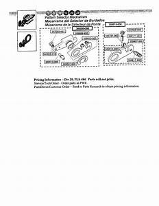 Singer 4205 Mechanical Sewing Machine Parts