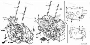 Honda Side By Side 2014 Oem Parts Diagram For Crankcase