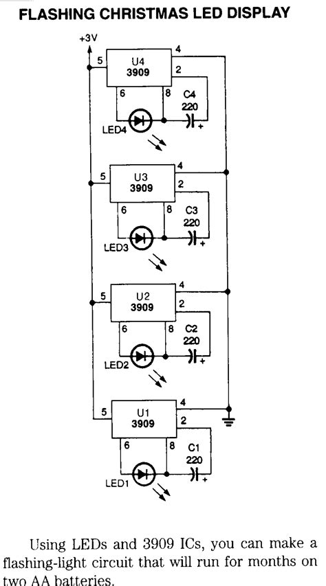 Holiday Electronic Circuits Schematics Page
