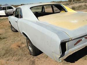 1966 Pontiac Tempest Custom Clone Into Gto  2 Door Post