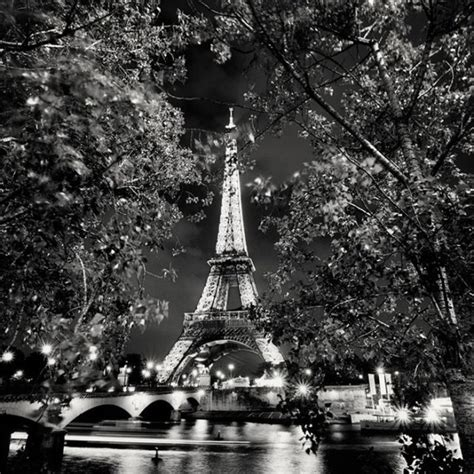 nightscapes  big cities  black  white art