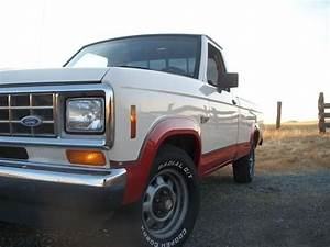 1987 Ford Ranger Regular Cab   Digging The Cream Colored