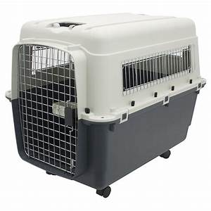 x large rolling travel dog crate airline approved pet With dog crate or kennel