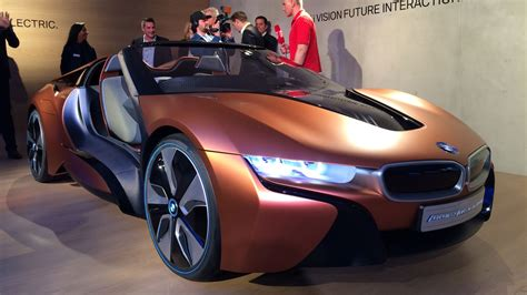 Smart Car Bmws Vision Of Tomorrows High Tech Car In