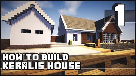build a house minecraft house how to build keralis house part 1