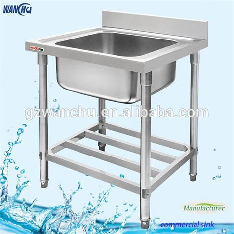 Single Sink Small Stainless Steel Sink Kitchen Sink Stand