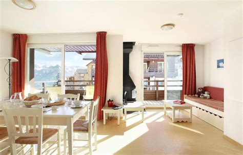 les chalets puy vincent huur appartement 3 kamers 6 personen in puy vincent 1600 ski planet