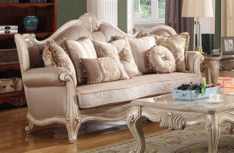 Loveseat Wood by Marseille Provincial Sofa Loveseat Set In