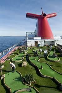 Carnival Dream Cruise Ship Mini Golf