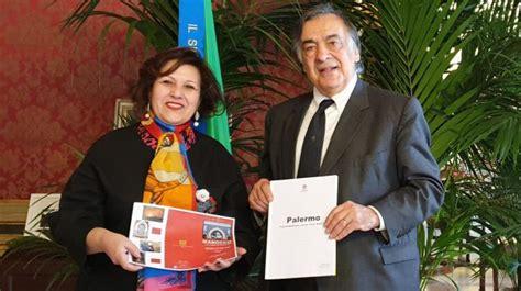 Consolato Marocco Palermo by Il Sindaco Di Palermo Incontra Il Console Generale
