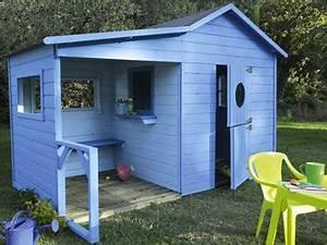 Cabane Enfant Leroy Merlin : cabane en bois avec auvent pour enfant cabanes en bois cabanes et les cabanes ~ Melissatoandfro.com Idées de Décoration