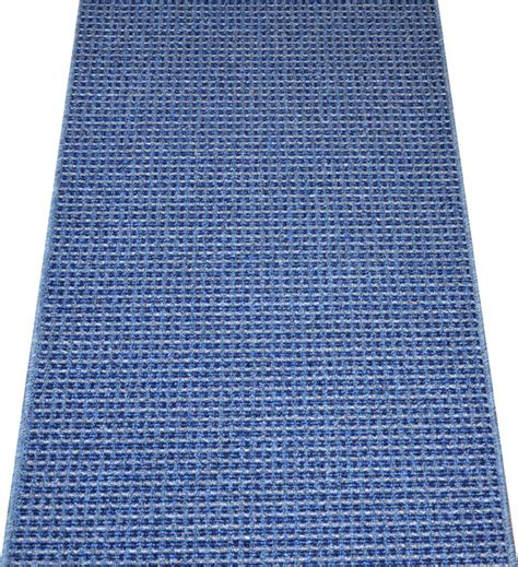 Non Skid Rugs Washable by Washable Non Skid Carpet Rug Runner Blue 5