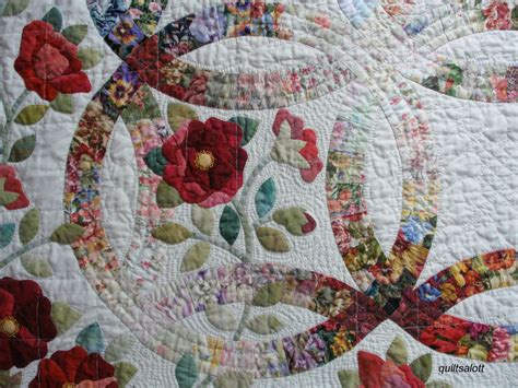 wedding ring quilt pattern quiltsalott i a new and it s name is
