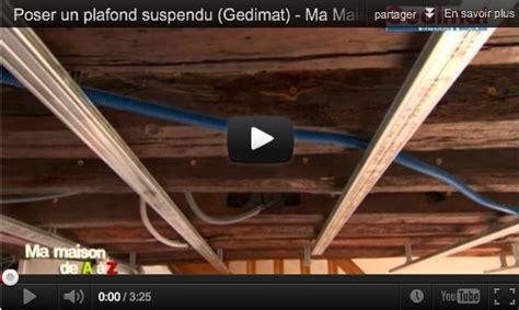comment poser un plafond suspendu fabriquer un plafond suspendu maison design hompot