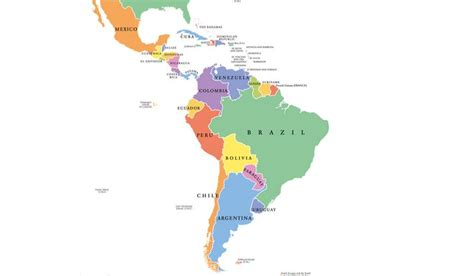 latin american countries worldatlascom