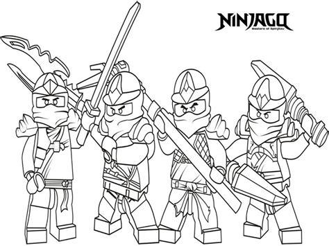 Ninjago Coloring Pages