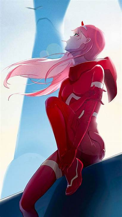 Darling Franxx Zero Anime Sky Wallpapers Zedge