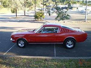 65 Mustang Fastback Auto RED With Craggars AND Full NSW Rego