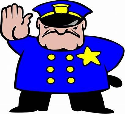 Security Guard Clipart Police Clip Cartoon Cliparts