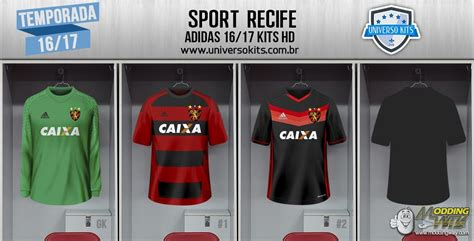 SPORT RECIFE ADIDAS 16/17 KITS HD - FIFA 16 at ModdingWay