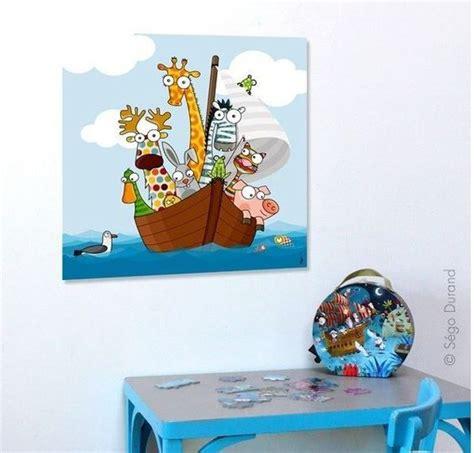 chambre bébé animaux tableau animaux rigolos pour chambre bébé et enfant
