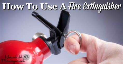 How To Use A Fire Extinguisher Video And Written Instructions