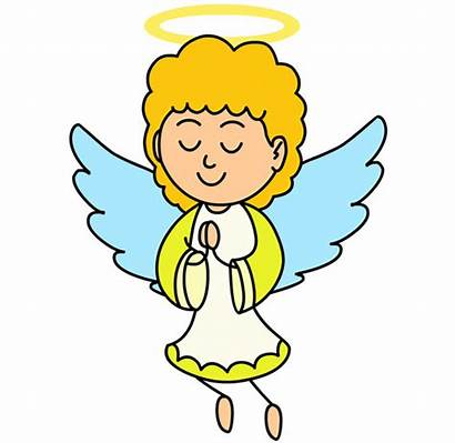 Child Angel Clipart Angels Cliparts Clipground Prayer