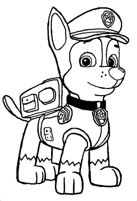 paw patrol bilder ausmalen sky coloring pages  kids