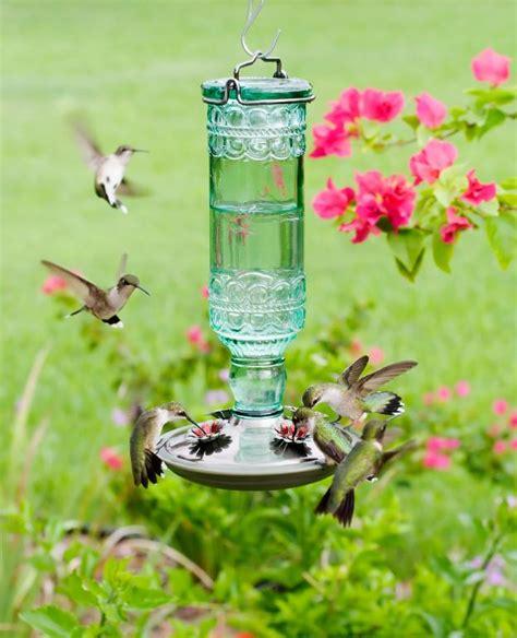 perky pet green 10 ounce antique bottle glass hummingbird