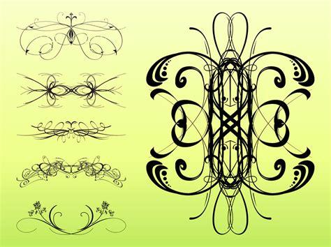 Decorative Swirls - decorative swirls set