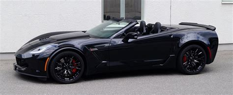 black convertible black corvette z06 convertible looks so dope