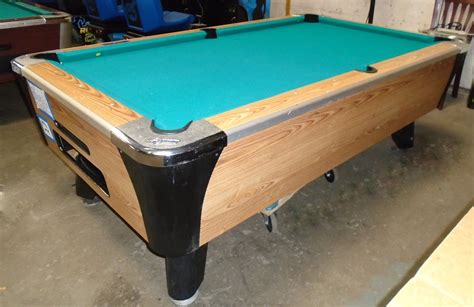 vending pool tables for sale valley dynamo 7 39 coin operated pool table for home or