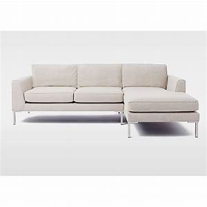 West elm marco 2 piece chaise sectional sofa aptdeco for Marco 2 piece sectional sofa