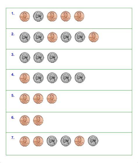 27 Sample Counting Money Worksheet Templates  Free Pdf Documents Download  Free & Premium